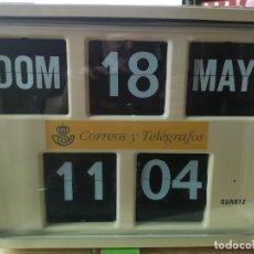 Vintage: RELOJ FLIP DE CORREOS. Lote 267822249
