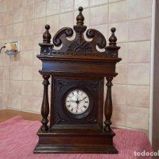 Vintage: ANTIGUO RELOJ CAMELOT, MADERA. Lote 268147479