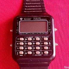 Vintage: RELOJ THERMIDOR CALCULADORA ALARMA CHRONOGRAPH NO FUNCIONA PARA RECAMBIOS .MIDE 32 MM X34MM. Lote 268599574