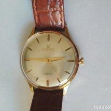Vintage: RELOJ DAMAS SUIZA 17 RUBIS ORO CHAPADO DOBLE CARA 1950S. Lote 268877389