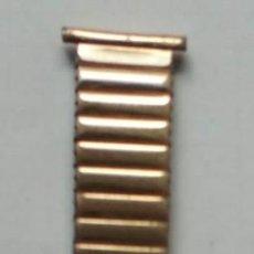 Vintage: CORREA ORO CHAPADO DOBLE CAPA EXSTENCIBLE 1950S ORIGINAL. Lote 268881404
