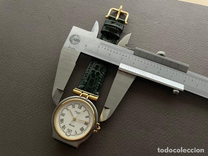 Vintage: Maurer 1843 Quartz. 35mm. Funciona. - Foto 7 - 270376718