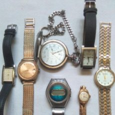 Vintage: LOTE RELOJES MEDAL,DUWARD,ADDEX,ORIENT,CHEVY,CONTROL DE LUXE,A.MIRO.JAPAN,FRANCE,SWISS.... Lote 272207853