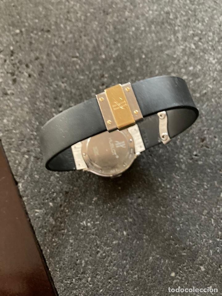 Vintage: Reloj hublot acero y oro, y detalle en oro - Foto 2 - 276800218