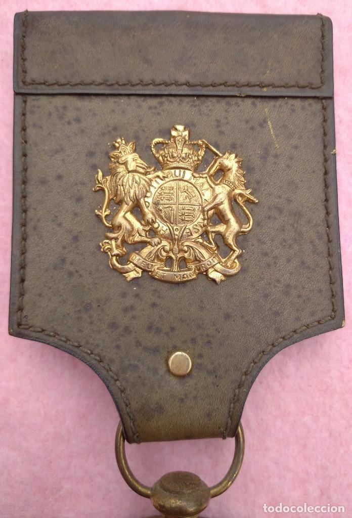 Vintage: Reloj con Escudo Imperial de Inglaterra, Mediados S. XX // VINTAGE PARED MILITAR HITLER QUARTZ NAZI - Foto 7 - 276961033