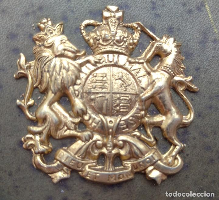 Vintage: Reloj con Escudo Imperial de Inglaterra, Mediados S. XX // VINTAGE PARED MILITAR HITLER QUARTZ NAZI - Foto 8 - 276961033