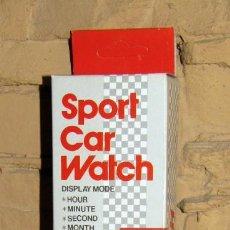 Vintage: CAR WATCH. RELOJ TRANSFORMABLE EN COCHE. HONG KONG. NUEVO Y EN SU CAJA ORIGINAL. AÑOS 80. Lote 277133513