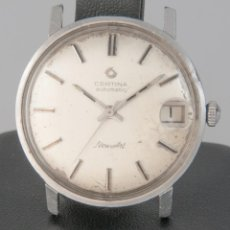 Vintage: CERTINA NEWART AUTOMATIC STEEL REF: 5801 108. Lote 277740833