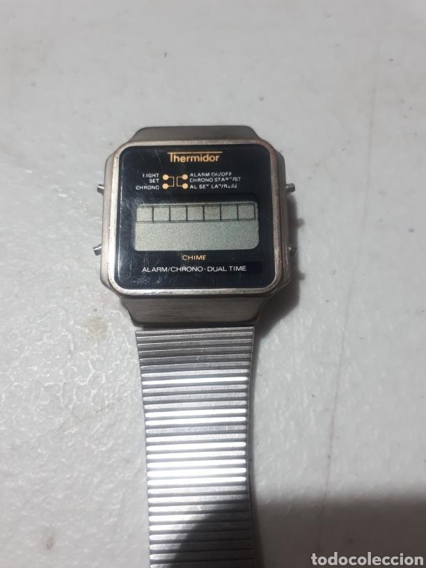 ANTIGUO RELOJ DIGITAL THERMIDOR ALARM CHRONO PARA REPARAR (Relojes - Relojes Vintage )