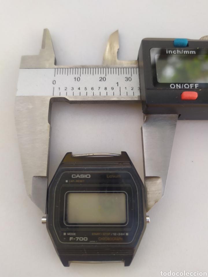 Vintage: Reloj Casio F-700 414 vintage⭐ Defectuoso ⭐ - Foto 4 - 278873813