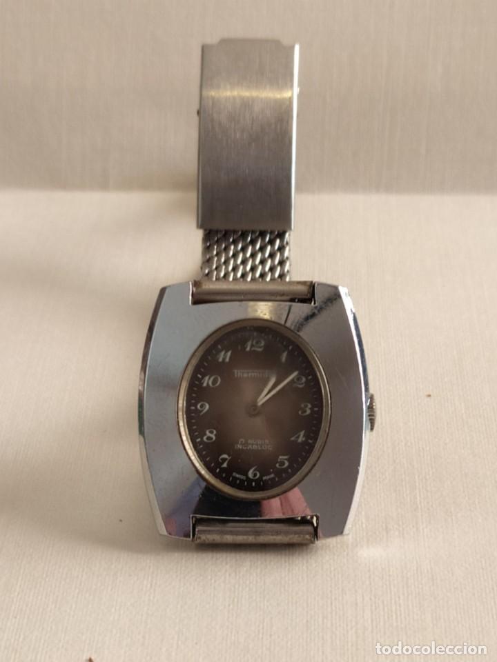 Vintage: Reloj suizo de pulsera señora clásico marca Thermidor en acero inoxidable - Foto 2 - 279981328