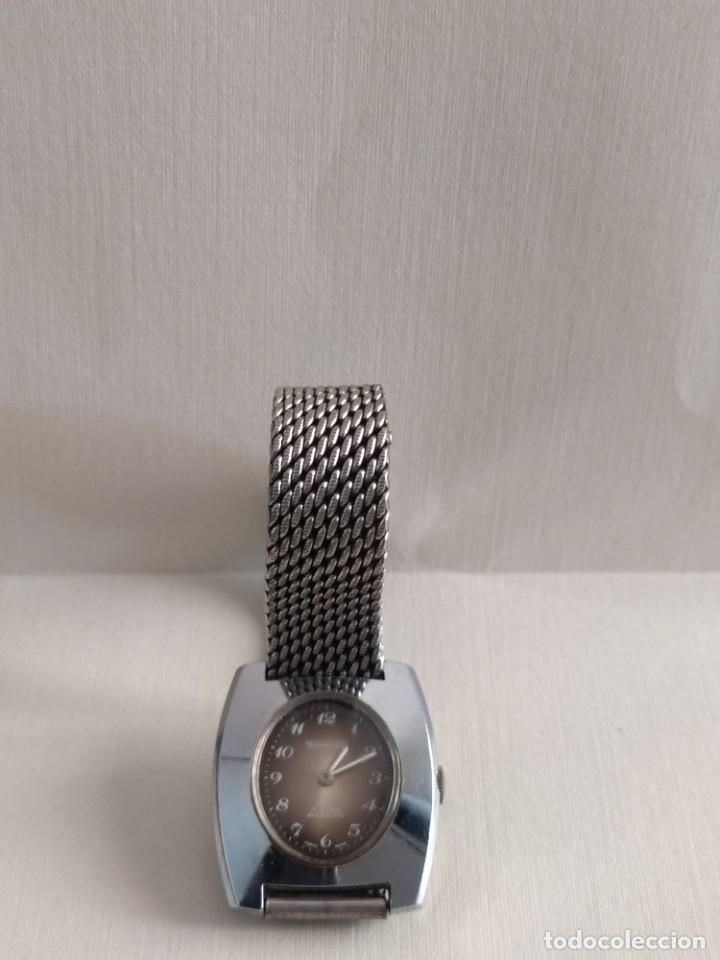 Vintage: Reloj suizo de pulsera señora clásico marca Thermidor en acero inoxidable - Foto 3 - 279981328