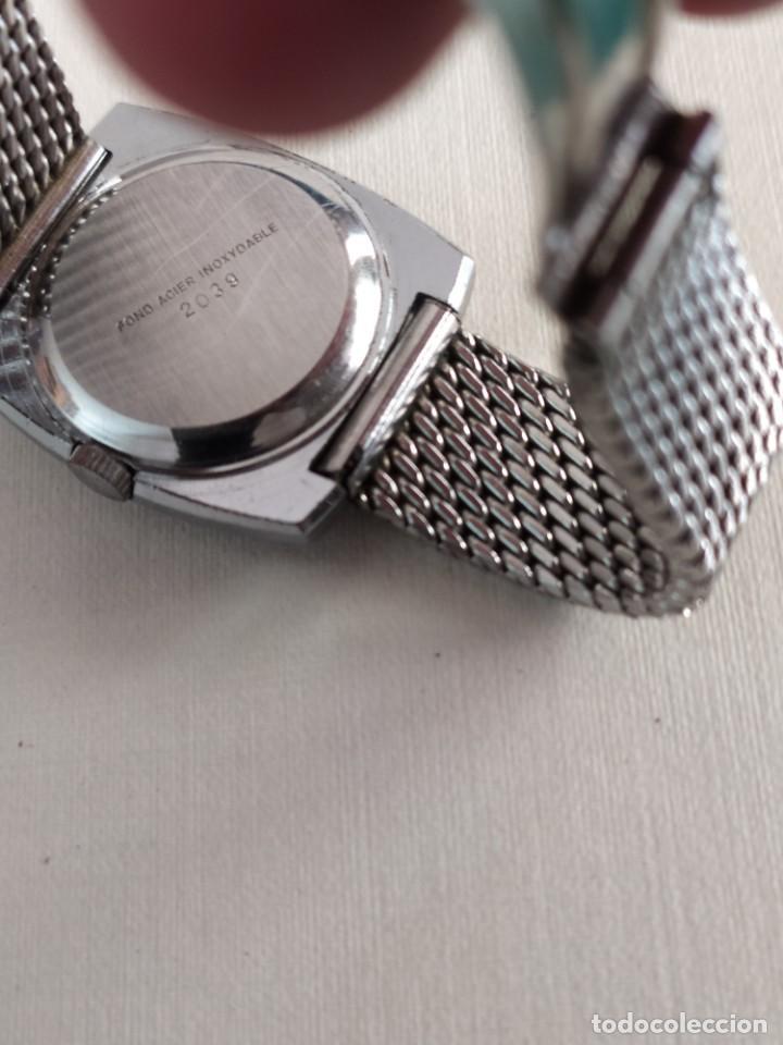 Vintage: Reloj suizo de pulsera señora clásico marca Thermidor en acero inoxidable - Foto 6 - 279981328