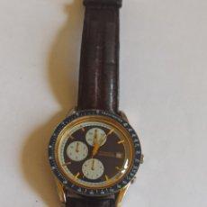 Vintage: RELOJ HOMBREFOSSIL CH-2230 CHRONOMASTER BLUE PANDA CON FECHA. AÑO 1995. Lote 280835413