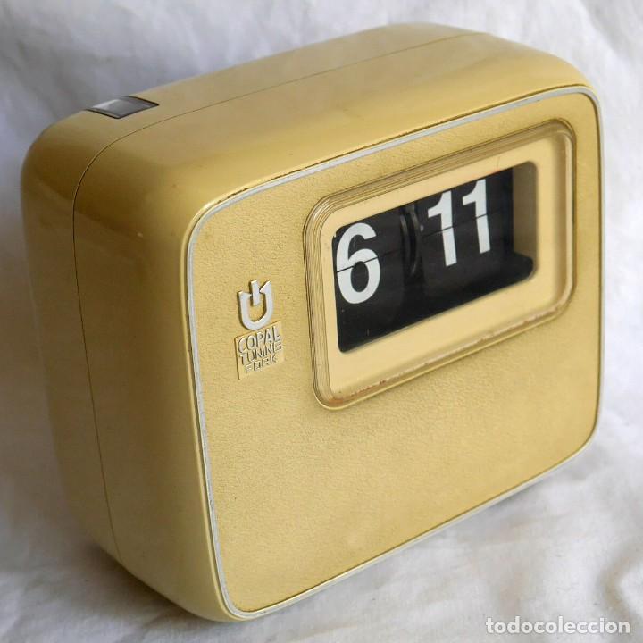 RELOJ DE PARED O SOBREMESA COPAL TUNING FORK, FUNCIONANDO (Relojes - Relojes Vintage )