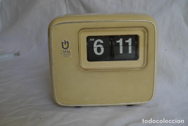 Vintage: Reloj de pared o sobremesa Copal Tuning Fork, funcionando - Foto 2 - 283060418