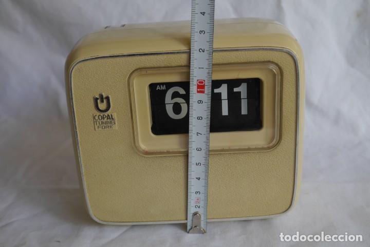 Vintage: Reloj de pared o sobremesa Copal Tuning Fork, funcionando - Foto 8 - 283060418