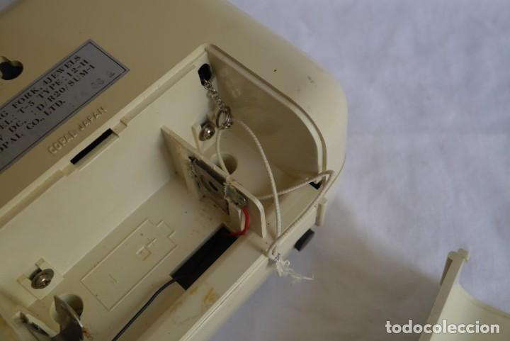 Vintage: Reloj de pared o sobremesa Copal Tuning Fork, funcionando - Foto 12 - 283060418