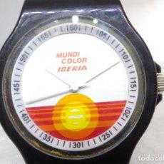 Vintage: ANTIGUO RELOJ VINTAGE AÑOS 80 IBERIA RELOJ DE COLECCION FUNCIONA PERFECTAMENTE!!. Lote 284318833