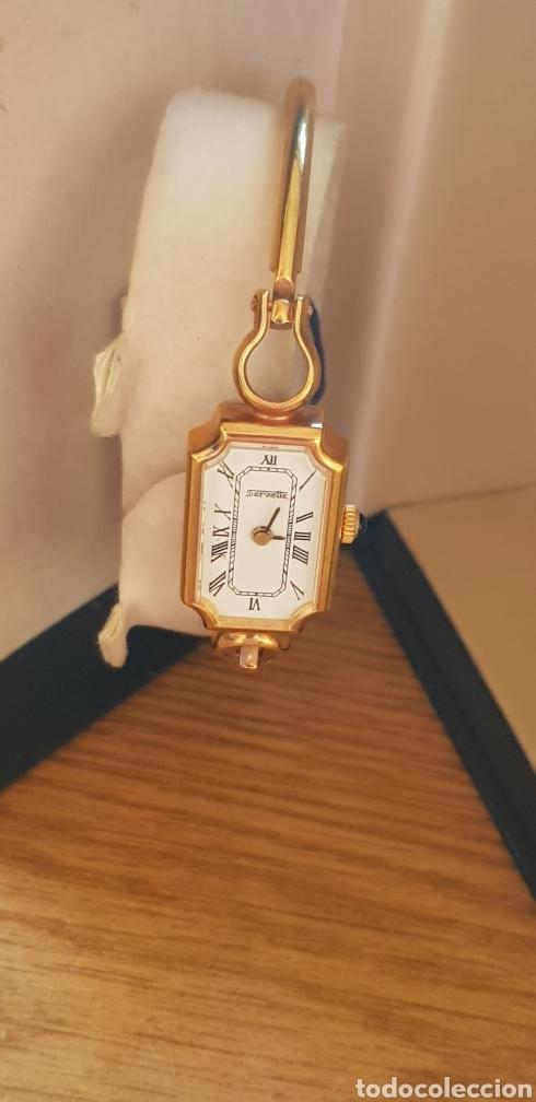 Vintage: Reloj Servette,brazalete,chapado,Vintage,Sra. - Foto 3 - 285366978