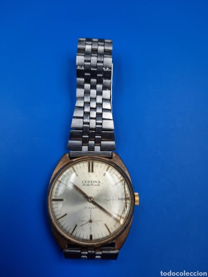 FESTINA BELLE COMBE 17 RUBIS 490 387 CARGA MANUAL (Relojes - Relojes Vintage )