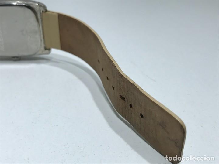 Vintage: Reloj de pulsera con movimiento de Quartzo con correa - Funcionando - Foto 7 - 286253163