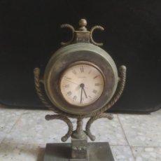 Vintage: ANTIGUO RELOJ DE SOBREMESA NÁUTICO. GREINER ALPACA. Lote 286334303