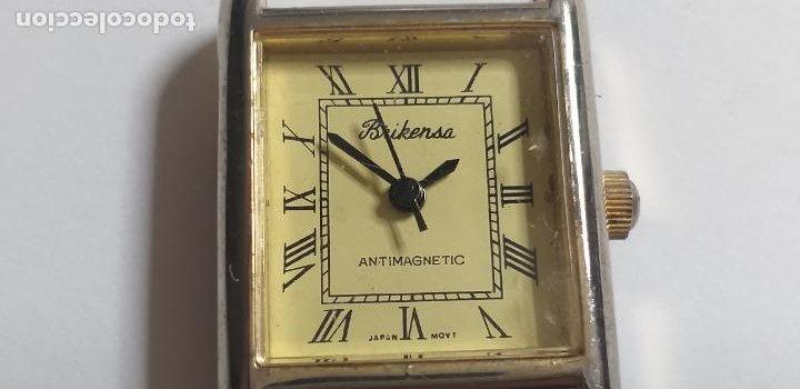 Vintage: ANTIGUO reloj Brikensa. Japan movement. - Foto 2 - 286844883