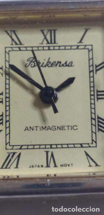 Vintage: ANTIGUO reloj Brikensa. Japan movement. - Foto 3 - 286844883