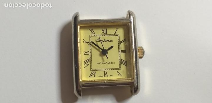 ANTIGUO RELOJ BRIKENSA. JAPAN MOVEMENT. (Relojes - Relojes Vintage )