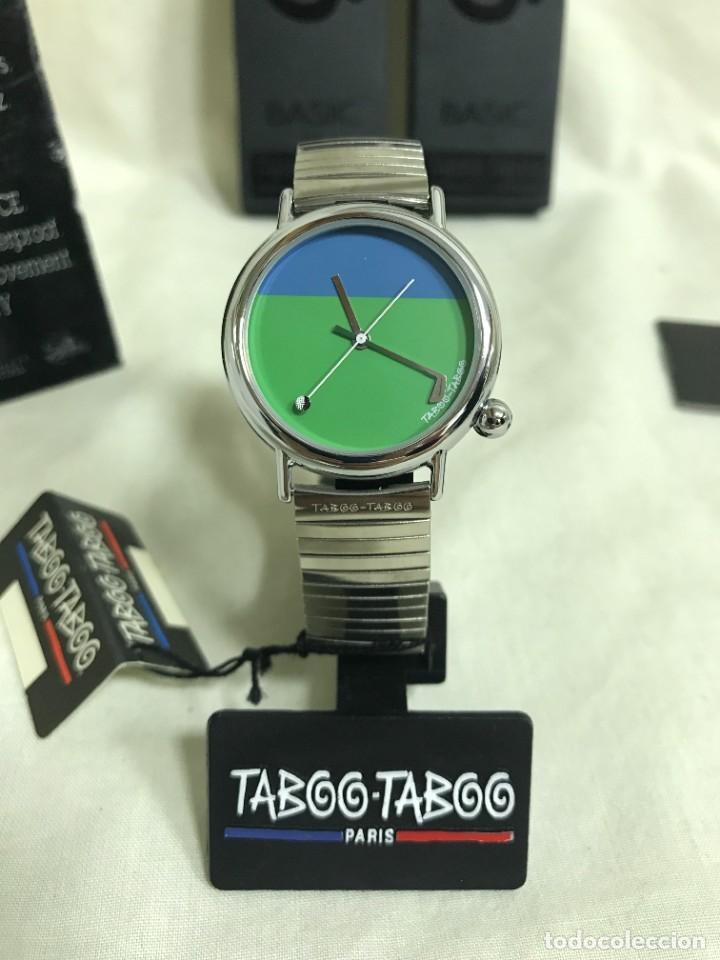 RELOJ DE PULSERA TABOO-TABOO. GOLF. DISEÑO DE J. C. MARESCHAL. AÑOS 80. A ESTRENAR (Relojes - Relojes Vintage )