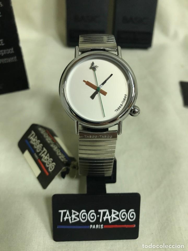 RELOJ DE PULSERA TABOO-TABOO. CAZA. DISEÑO DE J-C. MARESCHAL. AÑOS 80. A ESTRENAR (Relojes - Relojes Vintage )