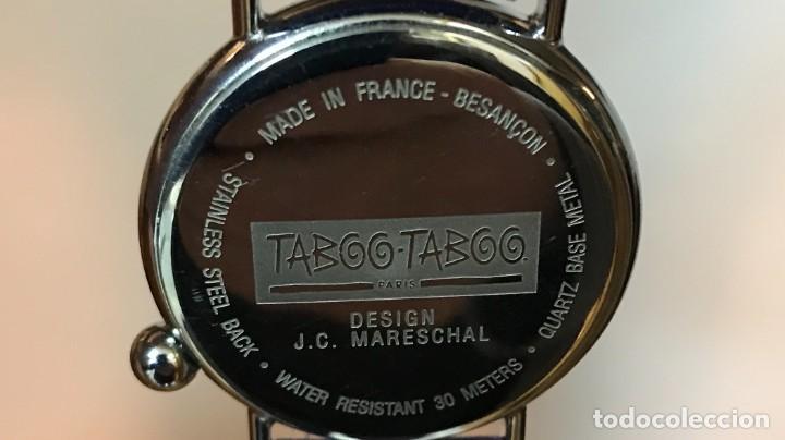 Vintage: RELOJ DE PULSERA TABOO-TABOO. CAZA. DISEÑO DE J-C. MARESCHAL. AÑOS 80. A ESTRENAR - Foto 3 - 287351668