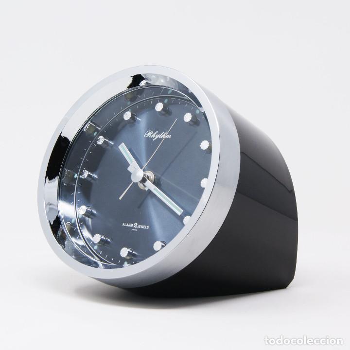 RELOJ DESPERTADOR SPACE AGE RHYTHM 51116 NOS NEW OLD STOCK (Relojes - Relojes Vintage )