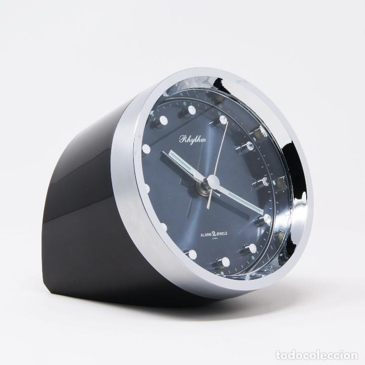 Vintage: Reloj despertador space age Rhythm 51116 NOS New Old Stock - Foto 3 - 287677203
