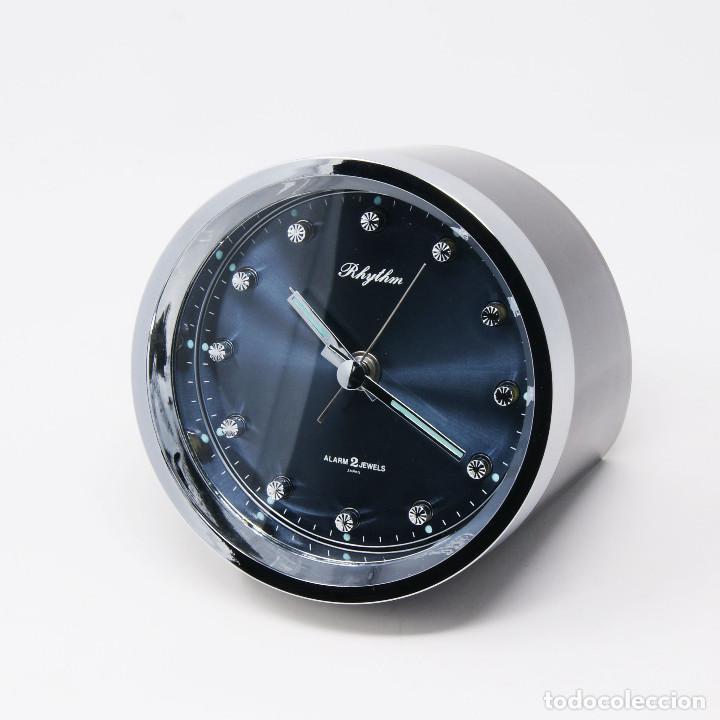 Vintage: Reloj despertador space age Rhythm 51116 NOS New Old Stock - Foto 4 - 287677203