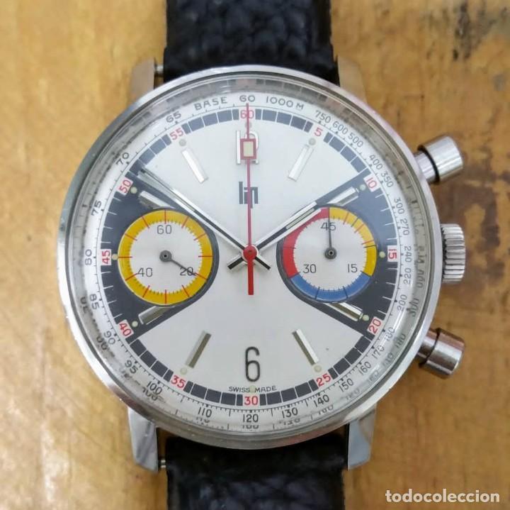 ♥️ CRONO MECANICO LIP 1969 ¡¡SIN USO!! ♥️ (Relojes - Relojes Vintage )