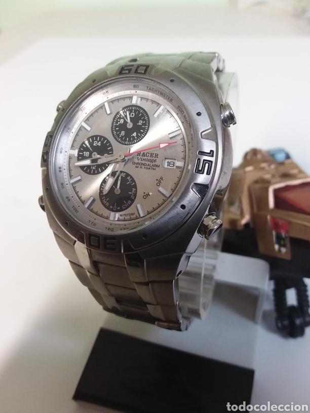 Vintage: Reloj Racer titaniun, quarzo,w7072101 - Foto 2 - 287788908