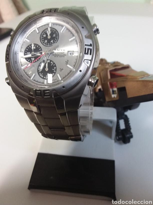 Vintage: Reloj Racer titaniun, quarzo,w7072101 - Foto 3 - 287788908