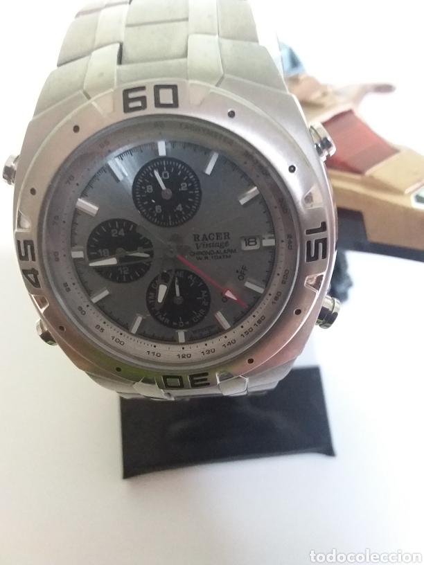Vintage: Reloj Racer titaniun, quarzo,w7072101 - Foto 4 - 287788908