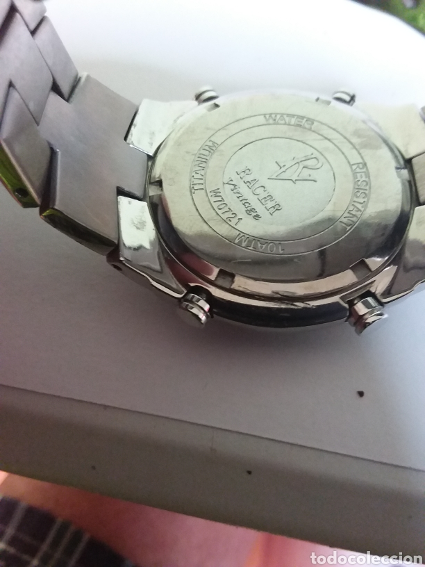 Vintage: Reloj Racer titaniun, quarzo,w7072101 - Foto 6 - 287788908