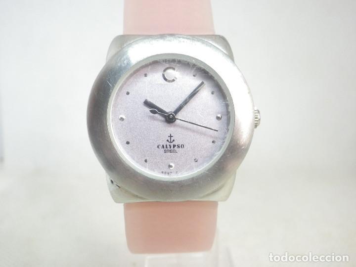 PRECIOSO Y ALEGRE RELOJ PARA DAMA CALYPSO DE LOTUS ACERO INOX SUMERGIBLE 50M (Relojes - Relojes Vintage )