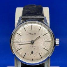Vintage: RELOJ RELAY DE CARGA MANUAL VINTAGE A REVISAR. Lote 295648478