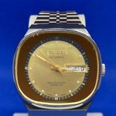 Vintage: RELOJ THERMIDOR AUTOMÁTICO SWISS MADE VINTAGE. Lote 295648788