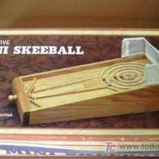 Vintage: MINI SKEEBALL EXECUTIVE - ESPECIE DE PINBALL EN MADERA CON BOLAS DE ACERO. Lote 8615272