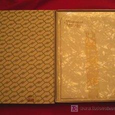 Vintage: NUESTRO BEBE, NACAR, EN SU CAJA DE ORIGEN--LIBRO VINTAGE EL PRIMER DÍA DE TODA UNA VIDA. Lote 27185591
