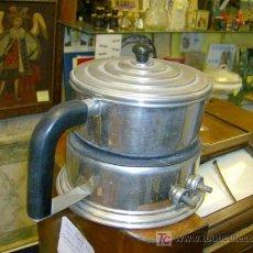 Vintage: CALENTADOR ELECTRICO DE LIQUIDOS EN METAL CROMADO CIRCA APROX 1930/50-CORREOS 2.5€. Lote 7533063