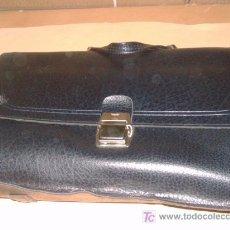 Vintage: CARTERA COLEGIAL GRANDE AÑOS 70 APROX. Lote 25998368