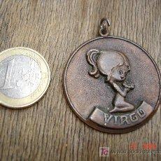 Vintage: MEDALLA CON EL SIGNO DE VIRGO. Lote 14736756