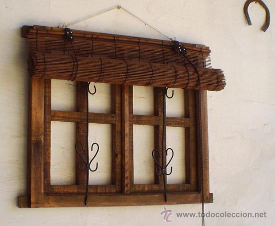 Ventana dos hojas con rejas de hierro ven36 vendido en venta directa 36231274 - Rejas de madera ...